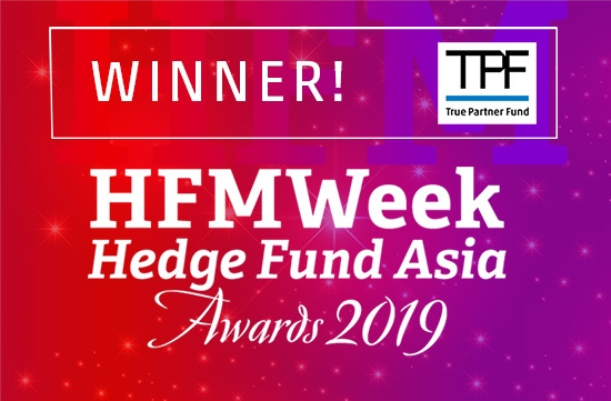 True Partner Fund winner HFM Hedge Fund Asia Awards 2019