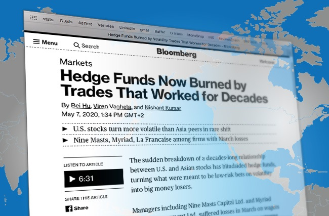 Screenshot of Bloomberg article with Govert Heijboer, Co-CIO of True Partner Capital