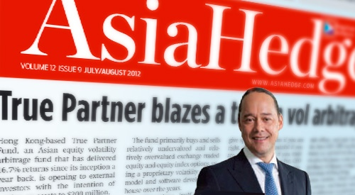 Article with Ralph van Put published in Asiahedge