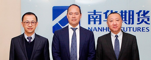 True Partner Capital CEO Ralph van Put signed an agreement with Nanhua Futures