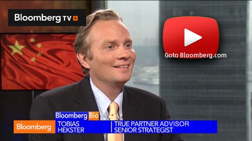 Tobias Hekster on Bloomberg TV - by Ralph van Put